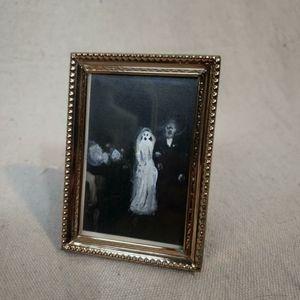 Vintage 1950s gostly framed photo!